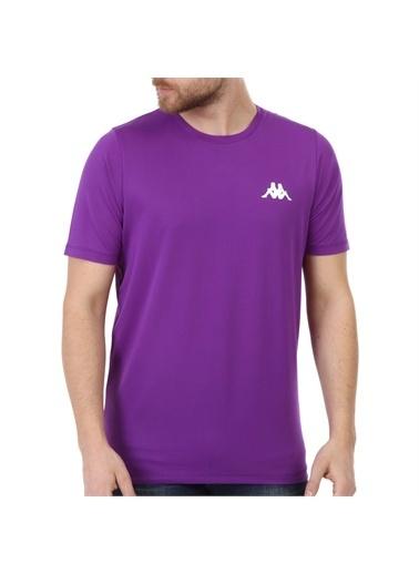 Kappa Poly T-Shirt Calmır  Mor